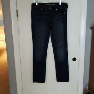 American Express stretch denim jeans